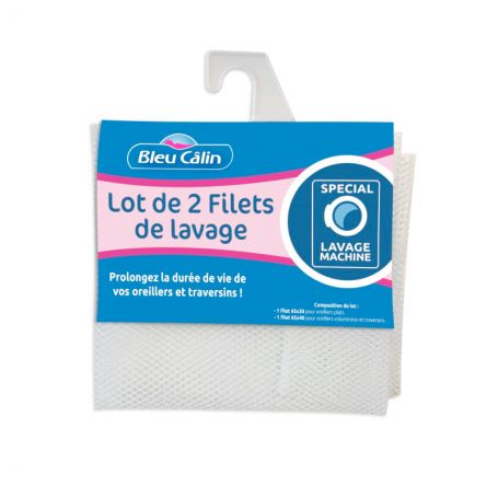 Lot de 2 filets de lavage