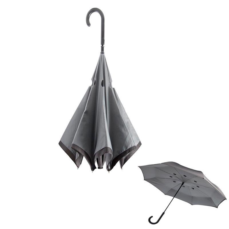 Parapluie pliage inversé