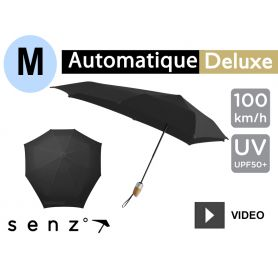 Parapluie anti-vent Senz - Deluxe Medium Noir