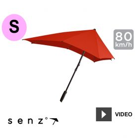 Parapluie anti-vent Senz - Small Rouge