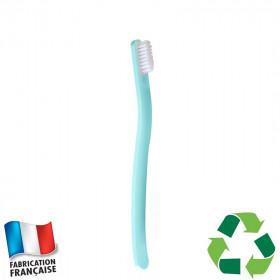 Brosse à dents écologique Caliquo - bleue