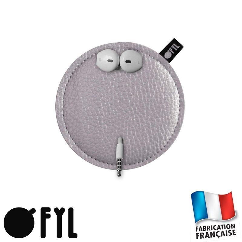 Pochettte range-écouters anti-noeuds