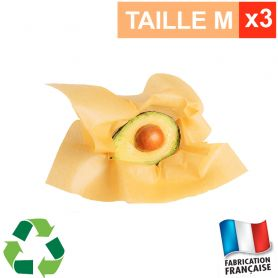 Lot de 3 emballages alimentaires ApiFilm taille M