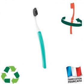Brosse à dents tête interchangeable Bioseptyl verte