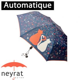 Parapluie pliant mini Chat rouge