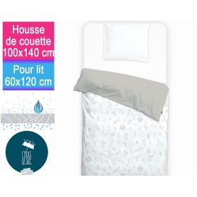 Housse impermeable 100x140cm Feuilles