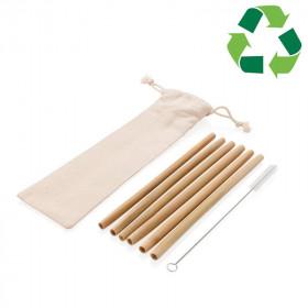 Set de pailles bambou