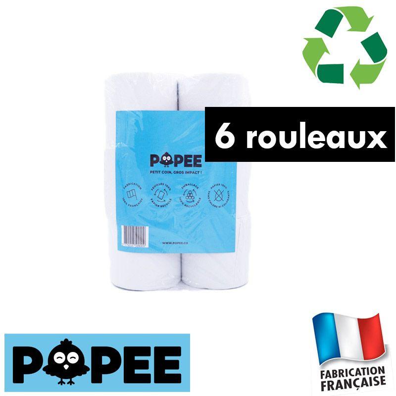 6 Papiers toilettes écologiques