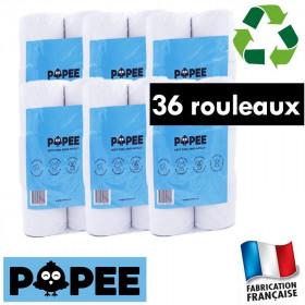 6 lots papiers toilettes écologiques