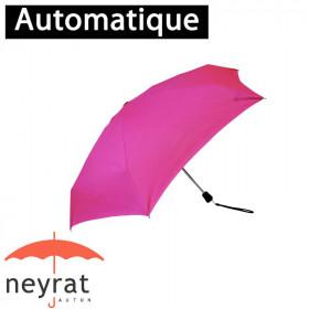 Parapluie pliant poche rose