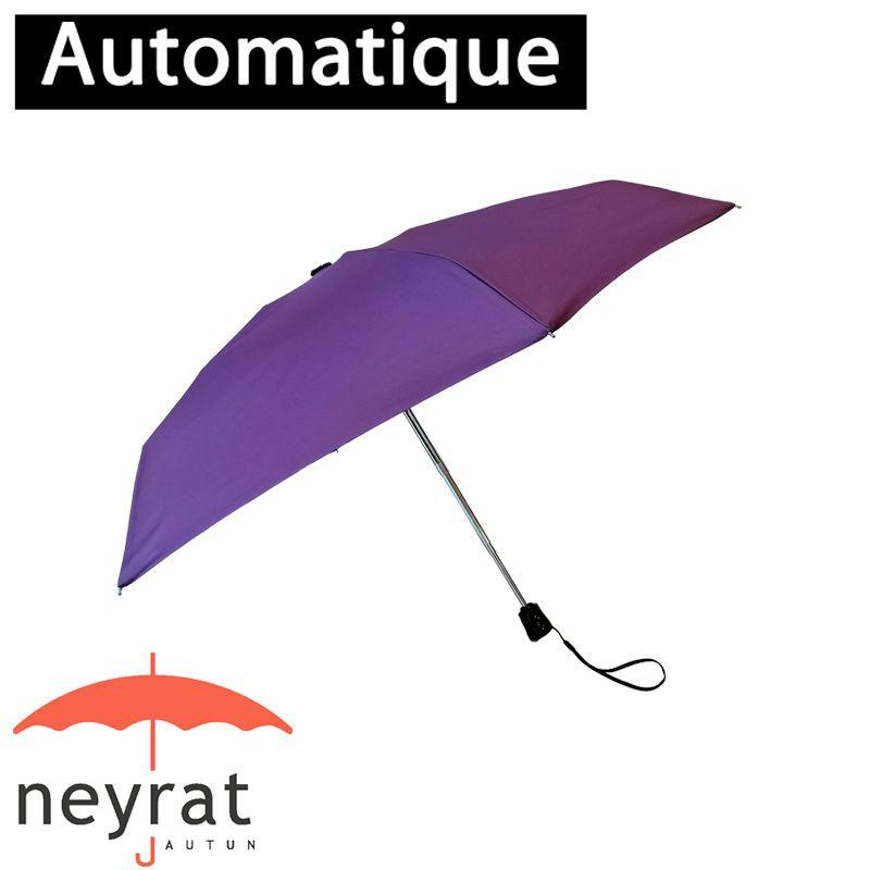 Parapluie pliant poche prune