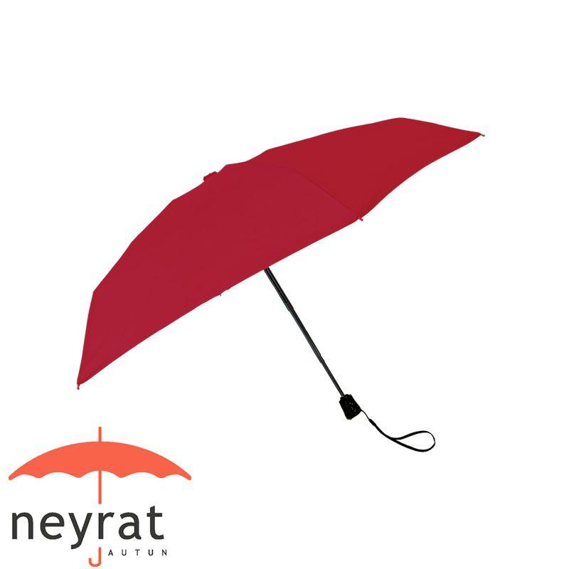 Parapluie pliant léger rouge
