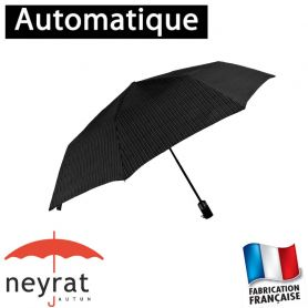 Parapluie pliant mini rayures
