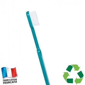 Brosse à dents bioplastique bleu