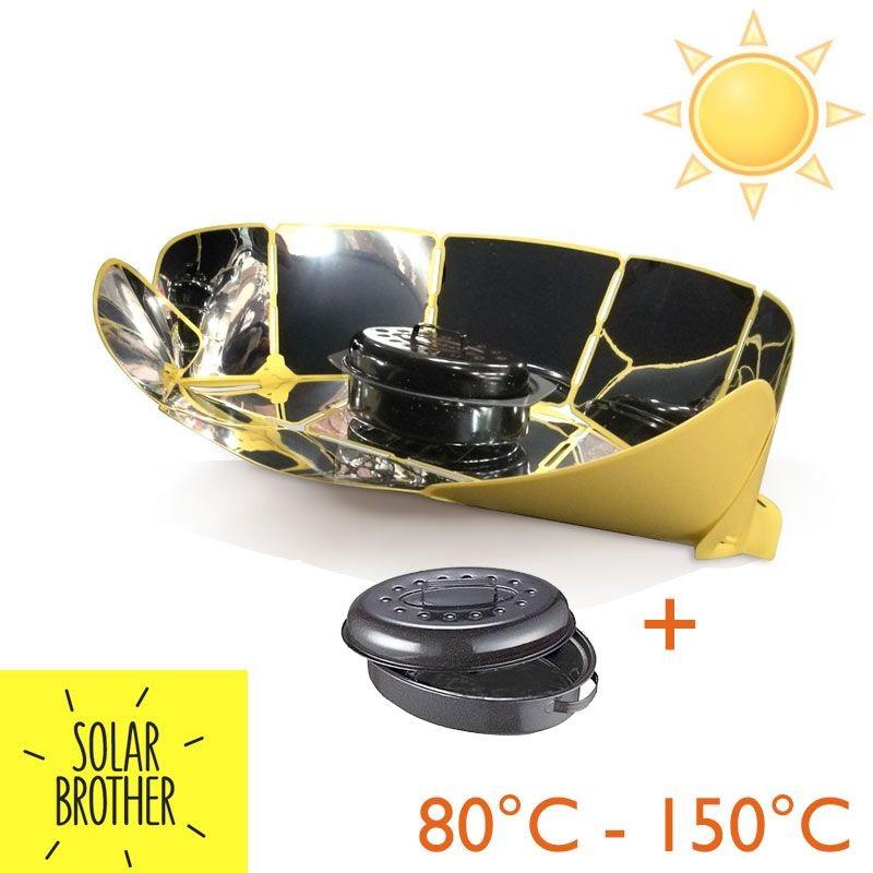 Cuiseur four solaire Sungood avec cocotte