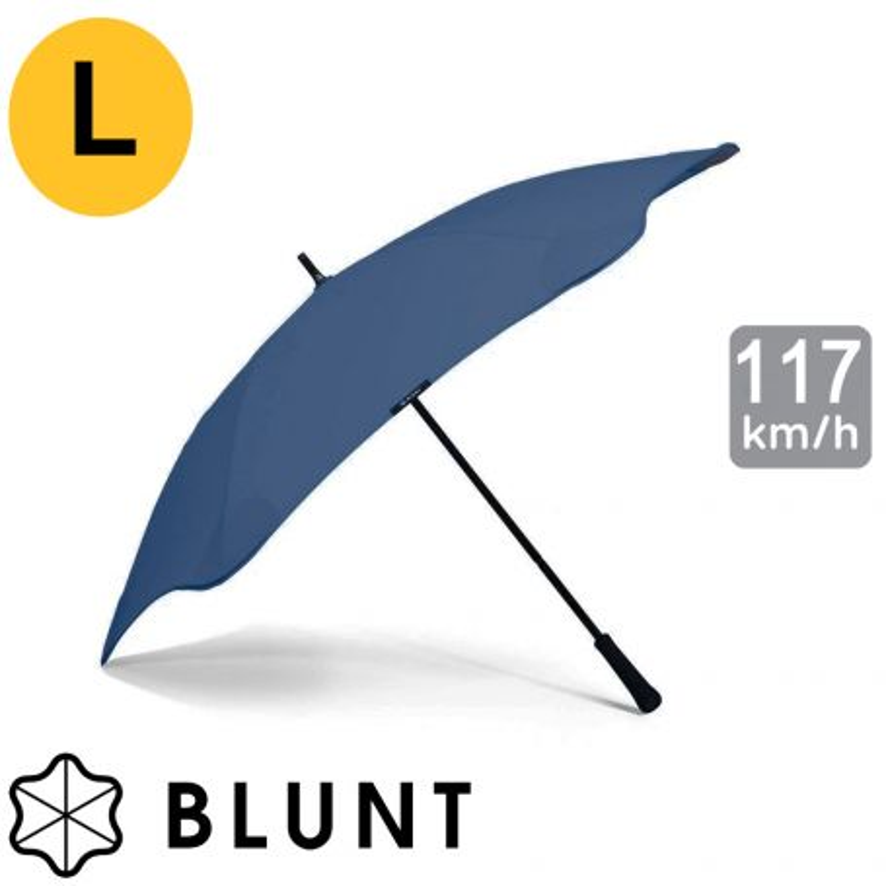 Parapluie tempete Blunt Classic bleu marine