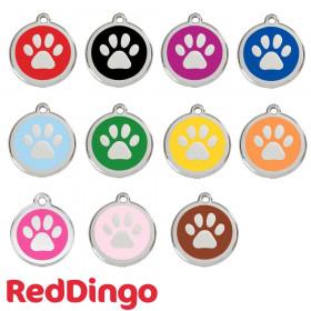 Médaille chien personnalisable Pattes