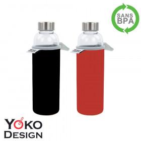 Bouteille en verre Yoko 500ml