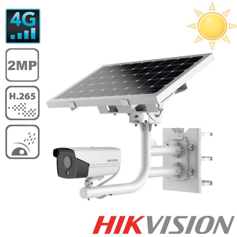 Kit vidéosurveillance solaire 4G & 2MP