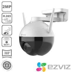 Caméra surveillance rotative C8C 2MP