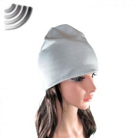 Bonnet anti-ondes gris