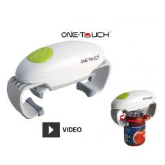Ouvre-Bocal automatique One Touch - Blanc