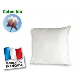 Oreiller en coton bio Bleu Câlin