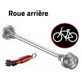 Antivol vélo pour roues de vélo - roue arrière
