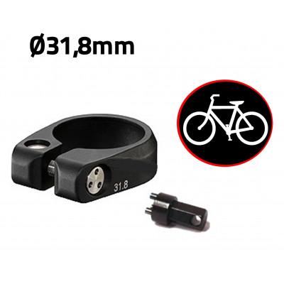 Antivol vélo pour selle de vélo - diamètre 31,8mm