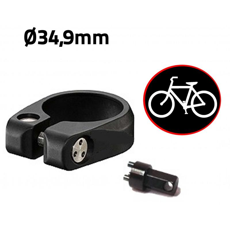 Antivol vélo pour selle de vélo - diamètre 34,9mm