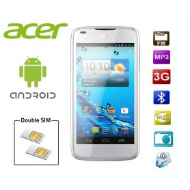 Smartphone Android double SIM Acer Liquid Gallant - Blanc