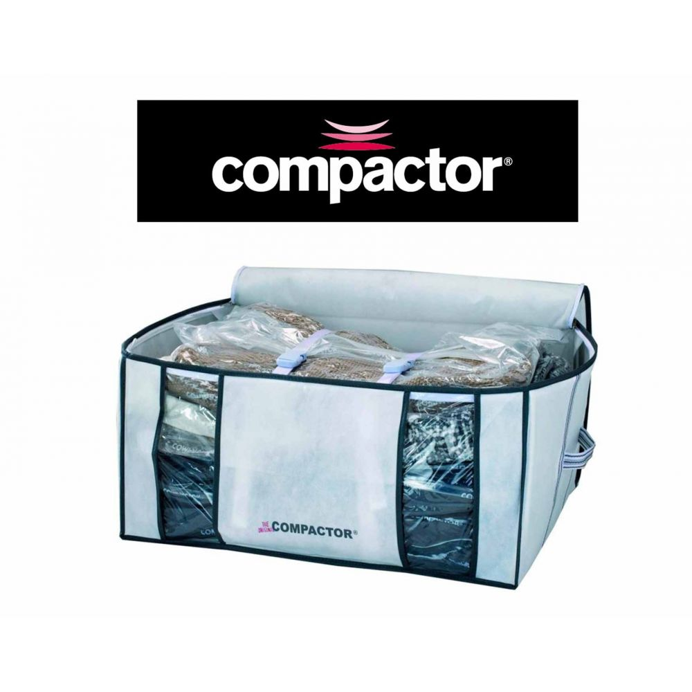 compactor housse gain de place sous vide 210 litres compactor rangement sous vide. Black Bedroom Furniture Sets. Home Design Ideas