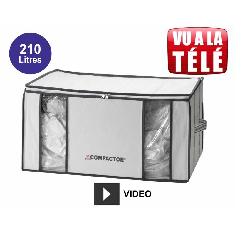 Compactor housse gain de place sous vide 210 Litres