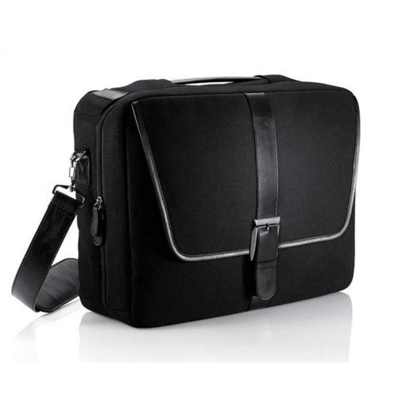 sacoche pour ordinateur portable sacoche noire unisexe. Black Bedroom Furniture Sets. Home Design Ideas