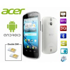 Smartphone Android double SIM Acer Liquid E1 - Blanc