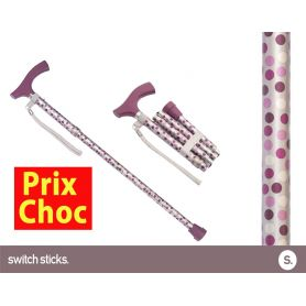 Canne pliante de marche fantaisie - Switch Sticks Windsor