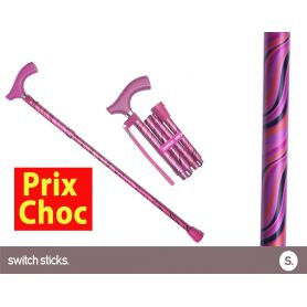 Canne pliante de marche fantaisie - Switch Sticks Tango