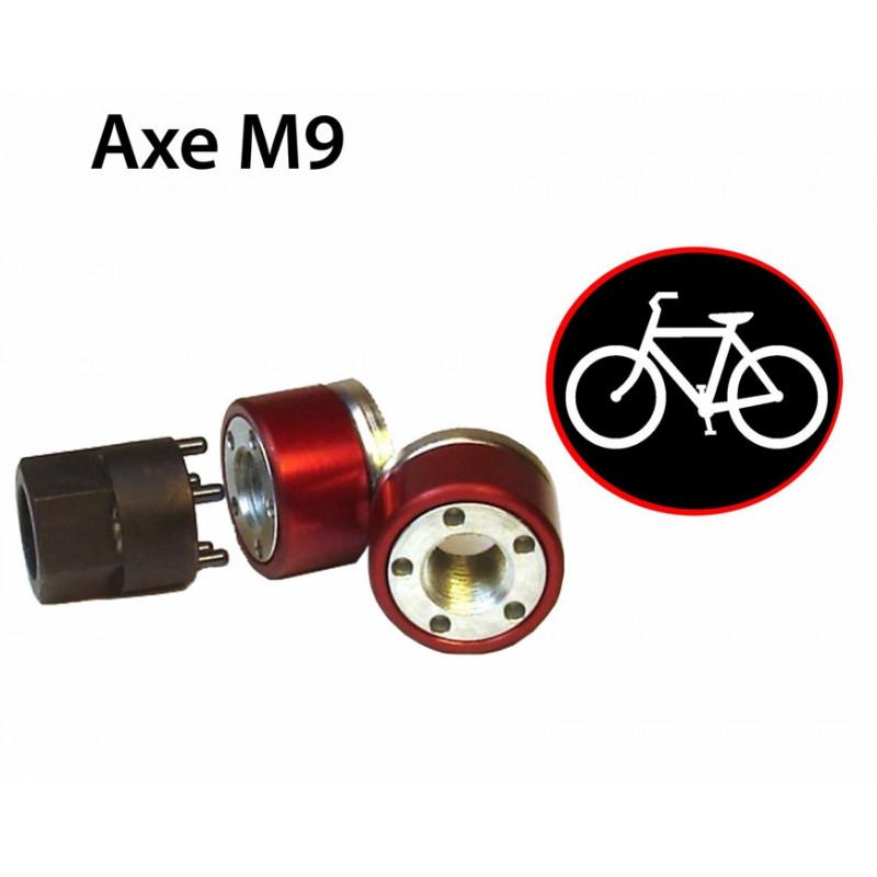Antivol roues de velo ecrou M9