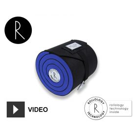 Porte-cravate anti-plis Rollor - Bleu
