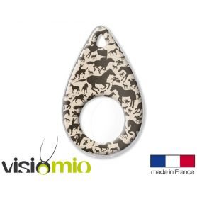 Collier loupe Visiomio - Chevaux