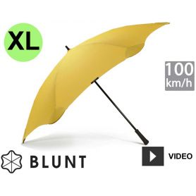 Parapluie tempête anti-vent Blunt - XL - Jaune