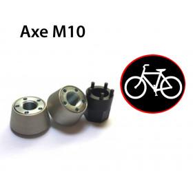 Antivol roues de velo ecrou M10