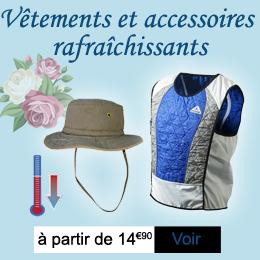 Vêtements et accessoires rafraîchissants Techniche Hyperkewl