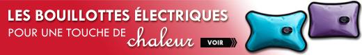 Bouillottes électriques