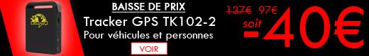 Tracker GPS TK102-2