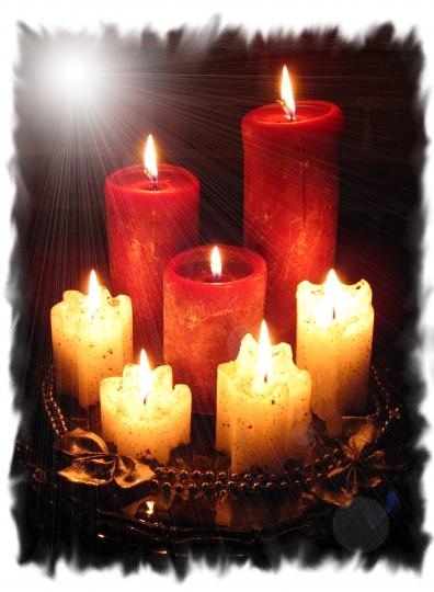 Une petite flamme d'originalité dans les bougies!
