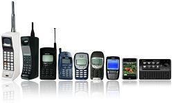 Les évolutions du téléphone portable