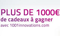 Participez au jeu concours 1001 Innovations !