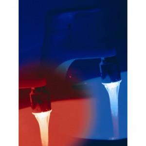 eclairage lumineux led de robinet