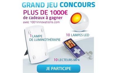 Derniers jours pour participer au jeu concours 1001 Innovations !